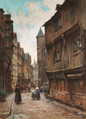 Rue Saint Romain Rouen
